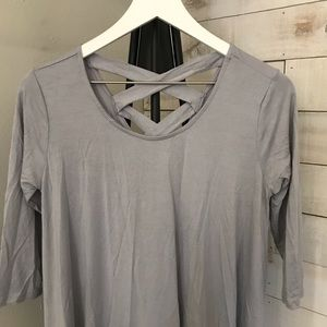 Rags and Couture Tops - 🆕 Rags & Couture Women's Crisscross Tunic Dress